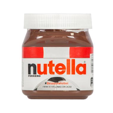 NUTELLA Crema de avellanas con cacao y leche 350 gr.  S/29.00