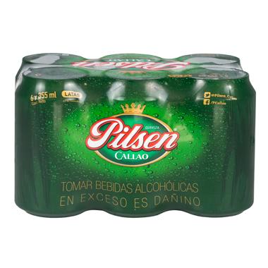 PILSEN CALLAO Cerveza en lata six pack S/ 22.00